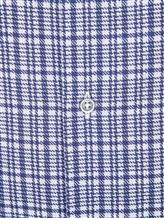 Рубашка LARUSMIANI 024347ABB 100%хлопок Сине-белый Италия изображение 4