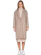 Пальто ERIKA CAVALLINI P7A101 52% хлопок, 14% акрил, 14% полиэстер, 12% шерсть, 8% альпака Бежевый Италия изображение 1