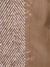 Пальто ERIKA CAVALLINI P7A101 52% хлопок, 14% акрил, 14% полиэстер, 12% шерсть, 8% альпака Бежевый Италия изображение 5