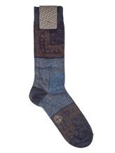Носки ALTO Milano 17AIAM1159UC 70% хлопок, 25% полиамид, 5% полиэстер Сине-голубой Италия изображение 0