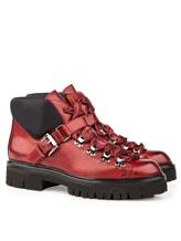Ботинки Santoni WTSK56823 100% кожа Бордовый Италия изображение 0