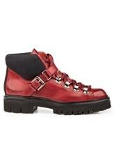 Ботинки Santoni WTSK56823 100% кожа Бордовый Италия изображение 1