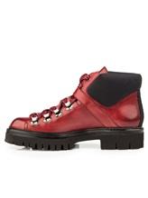 Ботинки Santoni WTSK56823 100% кожа Бордовый Италия изображение 2