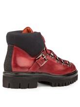 Ботинки Santoni WTSK56823 100% кожа Бордовый Италия изображение 3