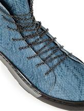 Кеды Henry Beguelin SD3246 100% кожа Голубой Италия изображение 5