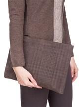 Клатч-сумка ZANELLATO 36137 100% кожа Коричневый Италия изображение 0