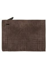 Клатч-сумка ZANELLATO 36137 100% кожа Коричневый Италия изображение 1