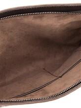 Клатч-сумка ZANELLATO 36137 100% кожа Коричневый Италия изображение 4