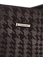 Клатч-сумка ZANELLATO 36137 100% кожа Черный Италия изображение 4