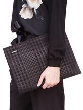 Клатч-сумка ZANELLATO 36137 100% кожа Черный Италия изображение 1