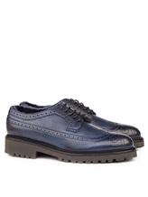 Ботинки EREDA DU1270PHILUM0 100% кожа Синий Италия изображение 0