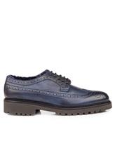 Ботинки EREDA DU1270PHILUM0 100% кожа Синий Италия изображение 1
