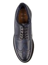 Ботинки EREDA DU1270PHILUM0 100% кожа Синий Италия изображение 4