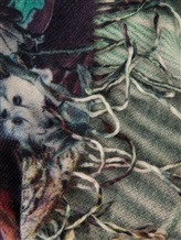 Шаль Re Vera 1718 15396DGshawl 100% кашемир Фиолетово-коричневый Китай изображение 1