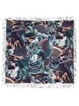 Шаль Re Vera 1718 15396DGshawl 100% кашемир Фиолетово-коричневый Китай изображение 2