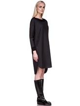 Платье EREDA 17WEDDR011 94% шерсть, 3% полиамид, 3% эластан Антрацит Италия изображение 2