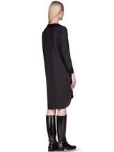 Платье EREDA 17WEDDR011 94% шерсть, 3% полиамид, 3% эластан Антрацит Италия изображение 3