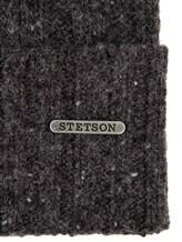 Шапка Stetson 8599335 80% шерсть, 20% полиамид Антрацит Италия изображение 1