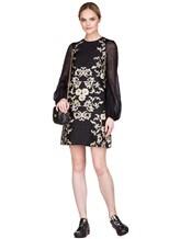 Платье Les Copains 0R5010 80% полиэстер, 12% шёлк, 8% полиамид Черный Италия изображение 0
