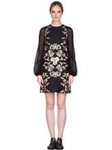 Платье Les Copains 0R5010 80% полиэстер, 12% шёлк, 8% полиамид Черный Италия изображение 1