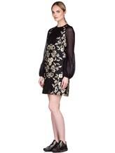 Платье Les Copains 0R5010 80% полиэстер, 12% шёлк, 8% полиамид Черный Италия изображение 2