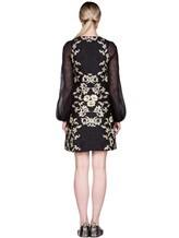 Платье Les Copains 0R5010 80% полиэстер, 12% шёлк, 8% полиамид Черный Италия изображение 3