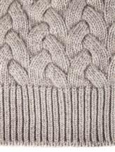Шапка Andre Maurice 17K316 100% кашемир Светло-серый Италия изображение 1