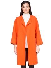 Пальто Stile Latino Napoli CDFEDEMT 100% кашемир Оранжевый Италия изображение 1