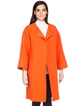 Пальто Stile Latino Napoli CDFEDEMT 100% кашемир Оранжевый Италия изображение 2