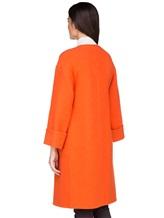 Пальто Stile Latino Napoli CDFEDEMT 100% кашемир Оранжевый Италия изображение 3