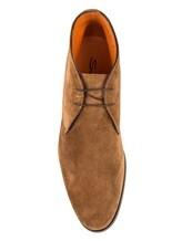 Туфли Santoni MCKG14686 100% кожа Светло-коричневый Италия изображение 4