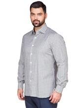 Рубашка ISAIA IF10TC 100%хлопок Зеленый Италия изображение 2