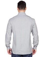 Рубашка ISAIA IF10TC 100%хлопок Зеленый Италия изображение 3