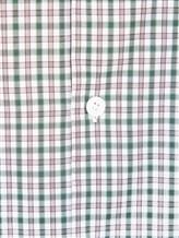Рубашка ISAIA IF10TC 100%хлопок Зеленый Италия изображение 4