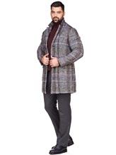 Пальто Capobianco 3M360 30% шерсть, 20% полиамид, 16% шерсть, 12% хлопок, 8% шёлк, 7% альпака, 7% мохер Темно-серый Италия изображение 1