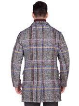Пальто Capobianco 3M360 30% шерсть, 20% полиамид, 16% шерсть, 12% хлопок, 8% шёлк, 7% альпака, 7% мохер Темно-серый Италия изображение 4