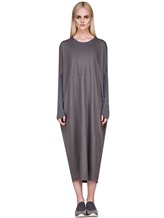 Платье EREDA E251506 97% шерсть, 3% эластан Серый Италия изображение 1