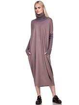 Платье EREDA E251506 97% шерсть, 3% эластан Лиловый Италия изображение 0