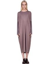 Платье EREDA E251506 97% шерсть, 3% эластан Лиловый Италия изображение 1