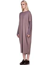 Платье EREDA E251506 97% шерсть, 3% эластан Лиловый Италия изображение 2