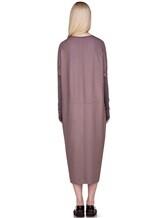 Платье EREDA E251506 97% шерсть, 3% эластан Лиловый Италия изображение 3