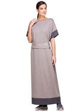 Платье EREDA E251512 96% шерсть, 4% полиамид Какао Италия изображение 0