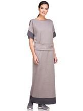 Платье EREDA E251512 96% шерсть, 4% полиамид Какао Италия изображение 1