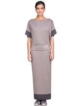 Платье EREDA E251512 96% шерсть, 4% полиамид Какао Италия изображение 2