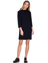 Платье ANTONELLI U4171 70% шерсть, 30% кашемир Черно-синий Италия изображение 0