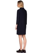Платье ANTONELLI U4171 70% шерсть, 30% кашемир Черно-синий Италия изображение 4