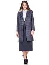 Пальто Peserico S20421A 100% шерсть Серо-синий Италия изображение 0