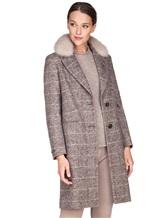 Пальто Peserico S20421A 100% шерсть Серый Италия изображение 0
