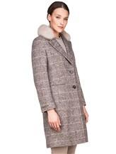 Пальто Peserico S20421A 100% шерсть Серый Италия изображение 2