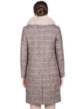 Пальто Peserico S20421A 100% шерсть Серый Италия изображение 3
